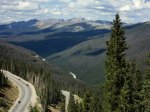 Berthoud Pass toward Indian Peaks